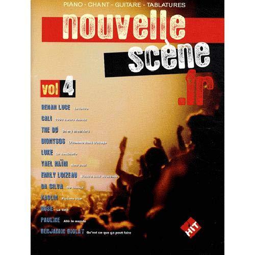 Nouvelle Scene Francaise, Vol 4 : Pour chant, piano et guitare tablatures