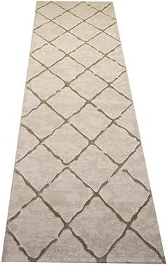 CARPETIA Tapis de Salon de Style scandinave Motif Losange en Beige Größe 160x230 cm