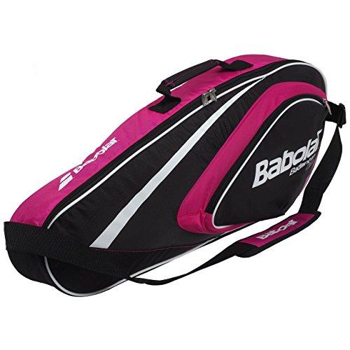 BABOLAT Badminton Team Line Schlägertasche (4 Schläger), Rosa