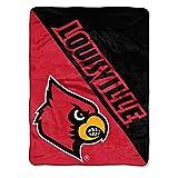 The Northwest Company Louisville Cardinals 'Halftone' Micro Raschel Throw Blanket, 46' x 60' , Red