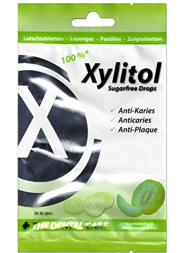 Miradent Xylitol Drops Melone, 60 g