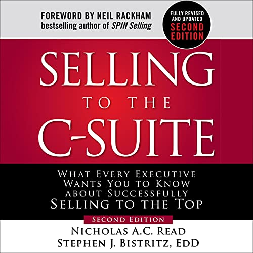 『Selling to the C-Suite, Second Edition』のカバーアート