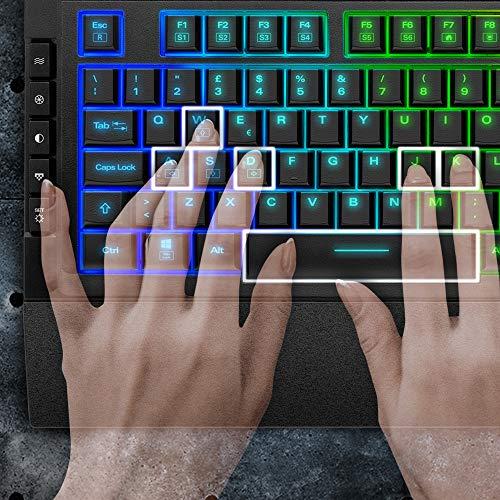 Sharkoon SKILLER SGK5 Gaming-Tastatur, schwarz, IT-Layout