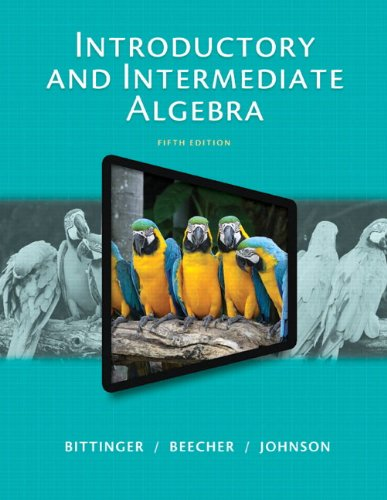 Introductory and Intermediate Algebra, Plus NEW MyLab Math with Pearson eText -- Access Card Package (5th Edition)