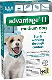 Bayer Animal Health Advantage II Medium Dog 6-Pack