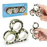 Magnetic Rings Fidget Toy Set, ADHD Fidget Toys, Adult...