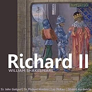 Richard II (Dramatised)                   Auteur(s):                                                                                                                                 William Shakespeare Sir                               Narrateur(s):                                                                                                                                 John Gielgud,                                                                                        Michael Hordern,                                                                                        Leo McKern,                   Autres                 Durée: 2 h et 32 min     1 évaluation     Au global 5,0