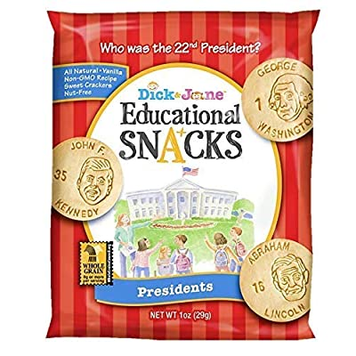 Educational Snacks I Presidents Features US Pre...