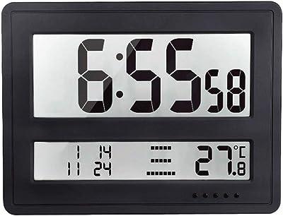 Amazon.com: Viso10 -Extra Large (8½ inch) -Atomic Clock - (Battery ...