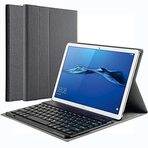 tastiera per tablet 10 pollici KILISON Huawei Mediapad T5 10 Tastiera Custodia Cover