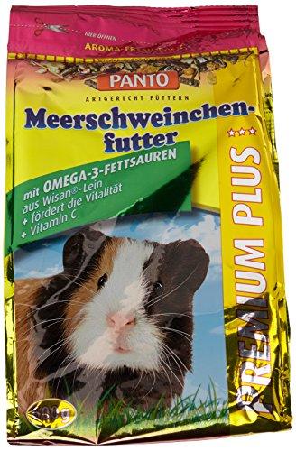 Panto Meerschweinchenfutter, Premium Plus 600 g, 6er Pack (6 x 600 g)