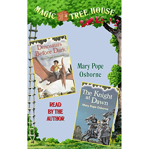Magic Tree House: Books 1 and 2                   By:                                                                                                                                 Mary Pope Osborne                               Narrated by:                                                                                                                                 Mary Pope Osborne                      Length: 1 hr and 26 mins     167 ratings     Overall 4.2