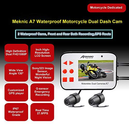MEKNIC『A7バイク用ドライブレコーダー』
