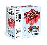 Clementoni- Pack 6 bandejas Organizador Puzzle, Multicolor (37040)