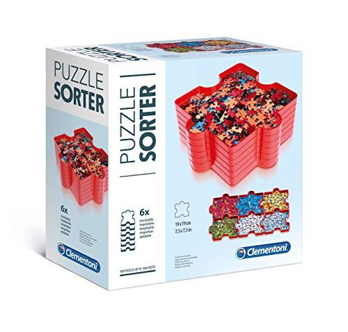 Clementoni 37040 Clementoni-37040 puzzel accessoires-Puzzel sorteerder, meerdere kleuren