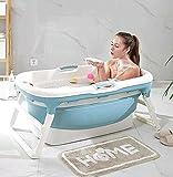 Adult Folding Bathtub, Portable Bathtub, Household Bathtub Plastic spa Bathtub Non-Slip Insulated Bathtub,A