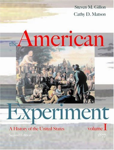 Download The American Experiment Volume I: to 1877 0618429506