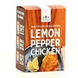 The Spice Lab Air Fryer Seasoning - Panko Lemon Pepper Chicken 8.8oz 4 Pack - Ultimate Air Fryer Accessories - Perfect Panko Bread Crumbs for Chicken / Fish / Pork - Made in the USA