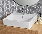 SHINEONE Hexagon Peel and Stick Backsplsh for Kitchen Bathroom, 12'×12' Heat & Water Proof Wall Sticker, 3D Self Adhesive Removeable Wallpaper Decorative Tiles, Grey, 5pcs