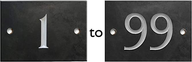GDCB Placa de n/úmero de casa personalizada N/úmeros de direcci/ón personalizados Signos N/úmeros de puerta Placa de se/ñal para oficina en casa Hotel Apartamento