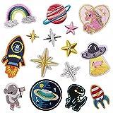 Patch Sticker,Parche termoadhesivo,Aplique de bordado adecuado para sombreros, chaquetas,...