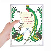 グアテマア国家エンブレムの国 硬質プラスチックルーズリーフノートノート