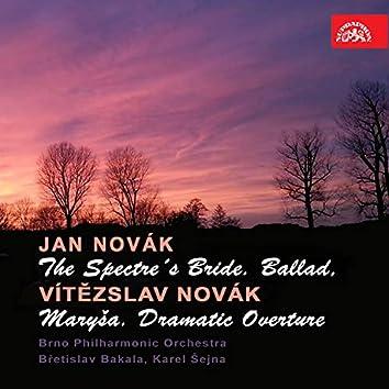 Novák: The Spectre´s Bride. Ballad - Novák: Maryša. Dramatic Overture