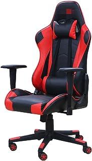 Las sillas de escritorio E-Sports silla moderna minimalista Internet Cafe competitiva telesilla Home Office Chair juego de ordenador y reclinación silla de la computadora del juego Oficina en casa