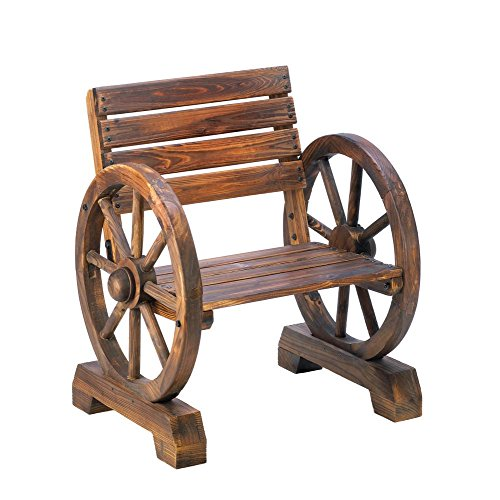 Home Locomotion Old Country Wagon Wheel Chair