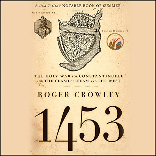 1453 audiobook cover art