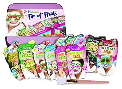7th Heaven Premium Tin Of Treats Face Mask Collection With Our Most Popular Range Of Masks The Perfect Gift For A Special Occasion