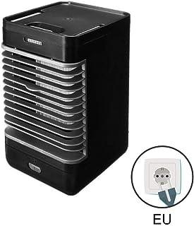 Etopfashion Aire Acondicionado portátil pequeño acondicionador de Aire Ventilador de enfriamiento Enfriador silencioso de Escritorio con asa para Oficina Hogar, Gimnasio al Aire Libre, Negro