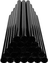 GLISTON Paintless Dent Repair Glue Sticks Hot Glue Sticks Paintless Dent Repair Tool for Car Repair Dent Remover Tool Set - 10 PCS Black