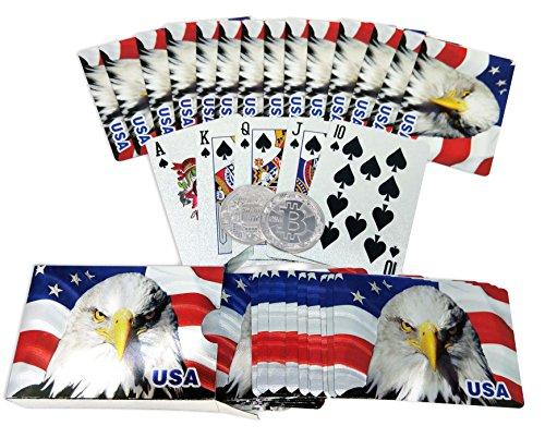 Big Texas Mall Silver American Flag…