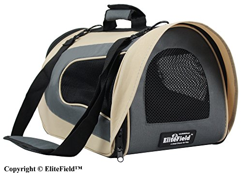 EliteField Airline Approved Soft Pet Carrier with...