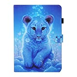 JIan Ying Funda para Samsung Galaxy Tab A 10.1 (2019) SM-T510 SM-T515 Slim Lightweight Protective Cover Cover Little Tiger