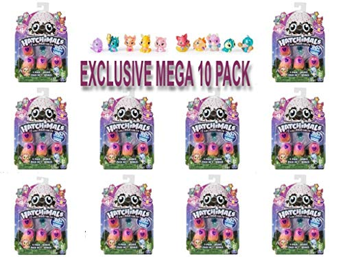 Hatchimals CollEGGtibles Season 4 Kid's Toys (10-Pack) Collectible Playset | Glitter, Metallic, Glow-in-The-Dark- Fuzzy, and Limited Edition Surprises | Girls and Boys