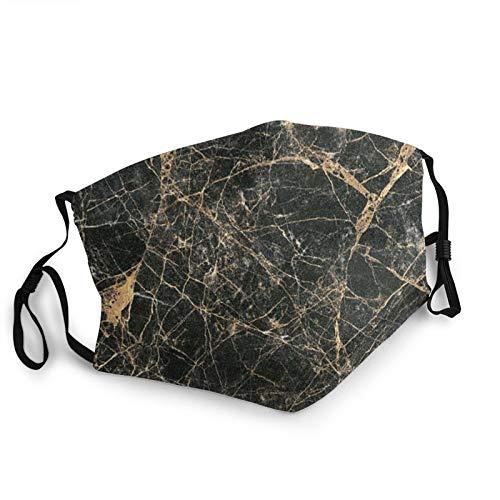 CAP PILLOW HOME Mascarilla de tela lavable Mármol reutilizable y ajustable contra el polvo de tela protectora