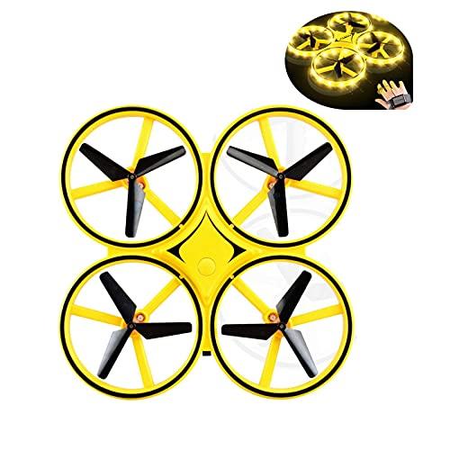 Dron de control remoto, juguetes voladores para niños, mejor regalo de juguete de helicóptero (coche de control remoto)