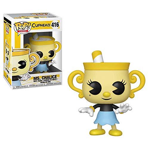 Funko 34476 Pop Vinilo: Juegos: Cuphead: Ms. Chalice, Multi
