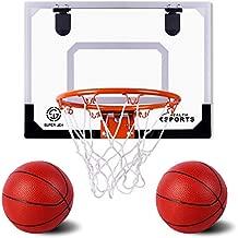 AOKESI Pro Indoor Mini Basketball Hoop Set for Kids - 16.5