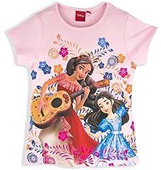 Disney - Camiseta de manga corta - para niña Rosa