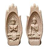 GeKLok Figuras budistas de Tailandia Feng Shui Home Zen...