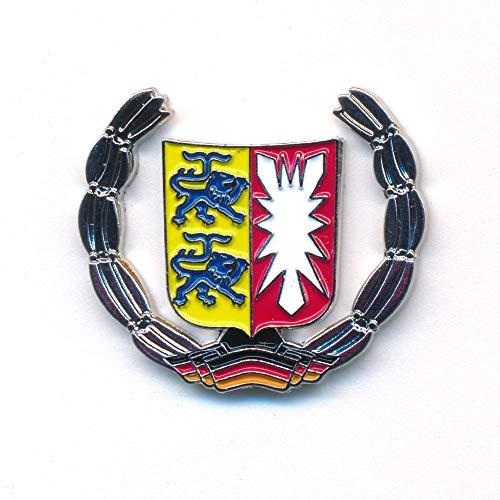 hegibaer Schleswig-Holstein Wappen Kiel Deutschland Flagge Badge Edel Pin Anstecker 0926