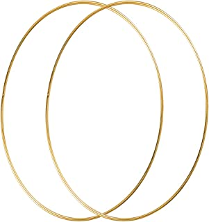 Best gold metal ring for floral hoops Reviews