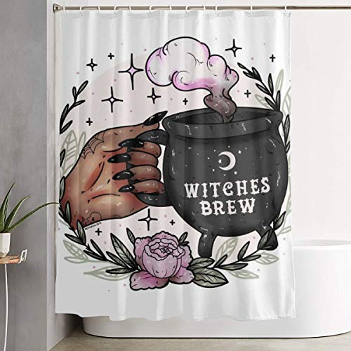 Cauldron Wicca Wiccan Witches Brew Shower Curtain