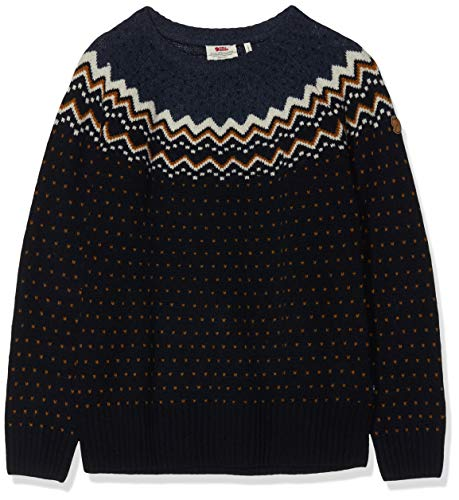 FJÄLLRÄVEN Damen Övik Knit Sweater, Dark Navy, M