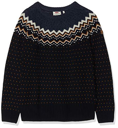 FJÄLLRÄVEN Damen Övik Knit Sweater, Dark Navy, M