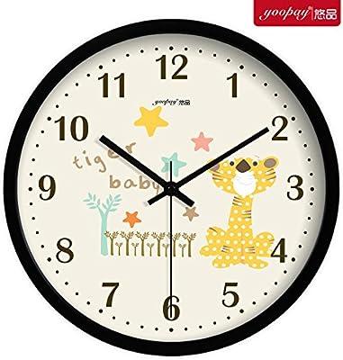 Amazoncom Jedfild Continental Retro Wall Clock Drawing An Idyllic