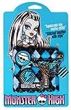 Jouceo SAS Monster High - MO130038SEFR - Bicicletas y vehículos de Juguete - Todos los balones + Ruedas de Acero - Blanco - 16 Pulgadas